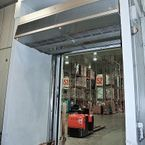 Biddle cold store air curtain